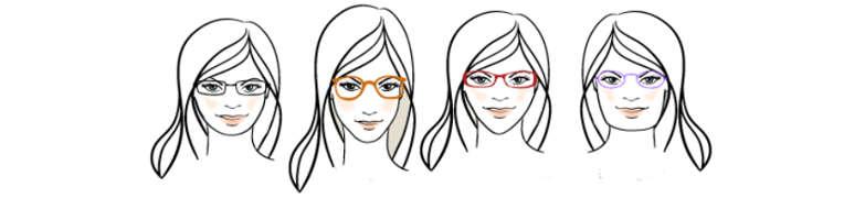 choisir ses lunettes en fonction de votre visage. Black Bedroom Furniture Sets. Home Design Ideas